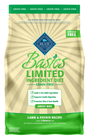 BLUE Basics® Limited Ingredient Grain Free Lamb and Potato Adult Dog Food size:4 Lb Deal in Houston