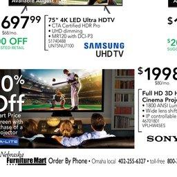 Nebraska Furniture Mart Anniversary Hot Deals   Aug 05 To Aug 07