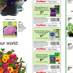 Fred Meyer Garden Center Apr 16 to Apr 22