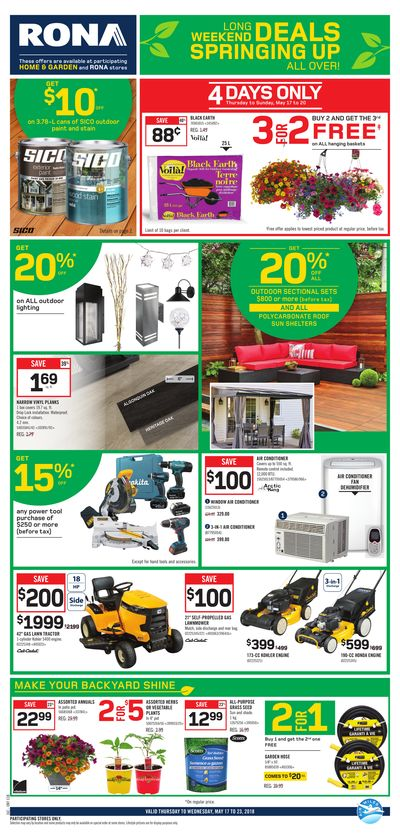 Rona st catharines st catharines rona view the flyer solutioingenieria Gallery