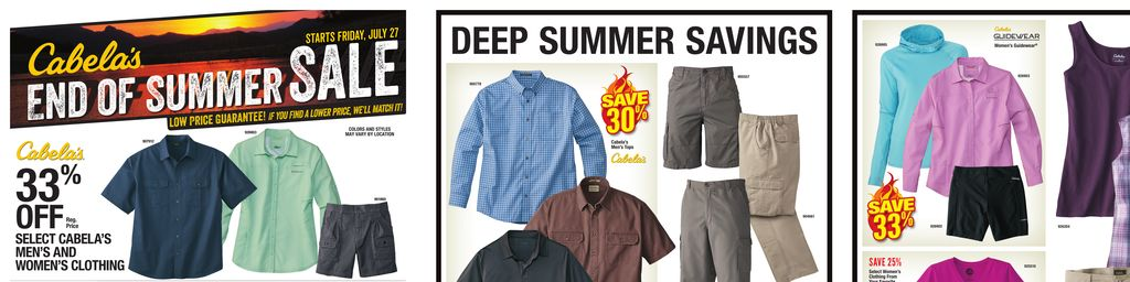 Cabela S End Of Summer Sale Jul 27 To Aug 12