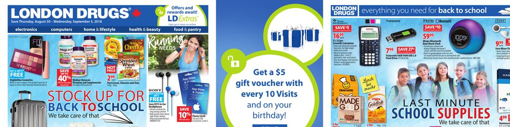 All flyers for vancouver flipp london drugs stock up for back to school reheart Choice Image