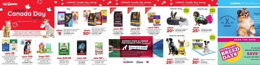 PetSmart Canada Day Sale in Toronto