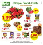 Ruler Foods Monthly Ad in