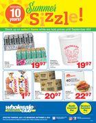 Wholesale Club and Club Entrepôt Club Savings Flyer in
