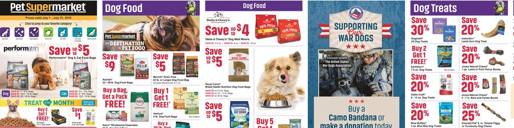 Pet Supermarket In-store Ads in Houston