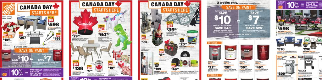 Home Depot Weekly Flyer in Toronto
