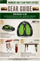 Cabela's  Monthly Gear Guides in Houston