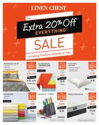 Linen Chest The Extra 20% Off Everything Sale - Including Products Already on Sale in Halifax