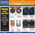 Colony Appliances Flyer in