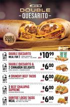 Taco Bell Double Quesarito Limited Time in Halifax