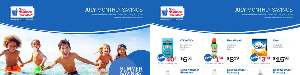 Good Neighbor Pharmacy Monthly Circular in