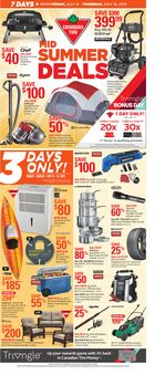 Canadian Tire Weekly Flyer in