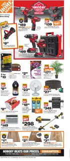 Home Depot Weekly Flyer in