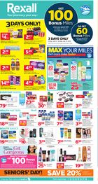 Rexall Weekly Flyer in