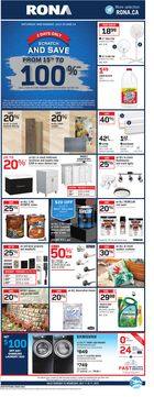 RONA Weekly Flyer in