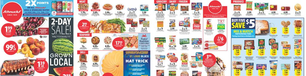 Schnucks Weekly Print Ad in