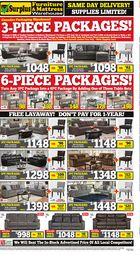 Surplus Furniture & Mattress Warehouse Flyer in Halifax