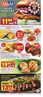 M&M Food Market Weekly Flyer in