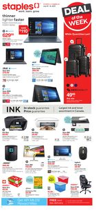 Staples  Weekly Flyer in