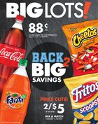 Big Lots Grocery Ad in