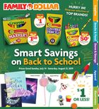 Family Dollar Back to School Digital Book in Houston