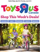 "Toys ""R"" Us Flyer in Halifax"