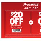 Academy Sports + Outdoors Weekly Ad in Houston