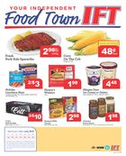 Independent Food Town Weekly Flyer in
