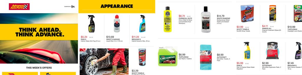 Advance Auto Parts July Online Mid-Month Flyer in