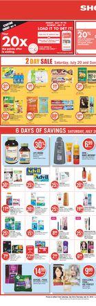 Shoppers Drug Mart Flyer in Halifax