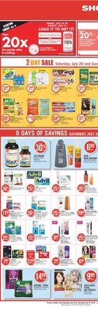Shoppers Drug Mart Flyer in