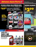 Advance Auto Parts Spanish July Online Flyer  in Houston