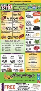Humphrey's Market Weekly in