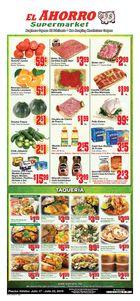 El Ahorro Supermarket Weekly in Houston