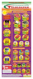 Supermercado Teloloapan Weekly in Houston
