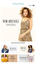 Maurices Flyer in