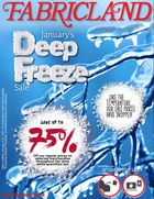 Fabricland January's Deep Freeze Sale in Hamilton
