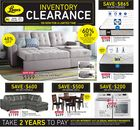 Leon's Inventory Clearance Sale in Hamilton