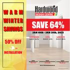 Hardwood Design Centre Weekly Ad in Hamilton
