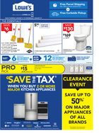 Lowe's Save The Tax in Hamilton