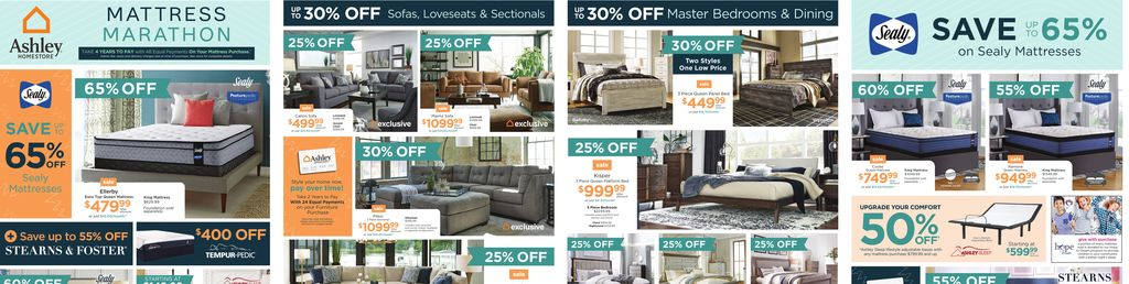 Ashley HomeStore West Flyer in Hamilton