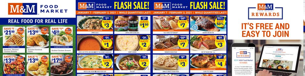 M&M Food Market Weekly Flyer in Hamilton