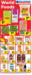 Real Canadian Superstore World Foods Flyer in Hamilton