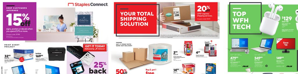 Staples Weekly Ad in Ashburn