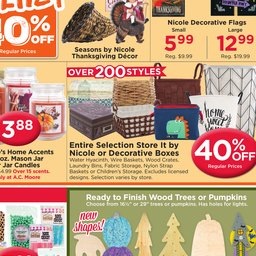 Ac Moore Weekly Ad Sep 30 To Oct 06