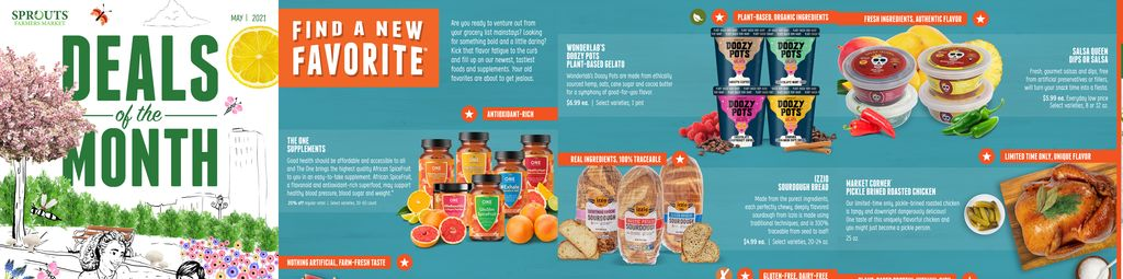Sprouts Farmers Market Monthly Deals in Ashburn