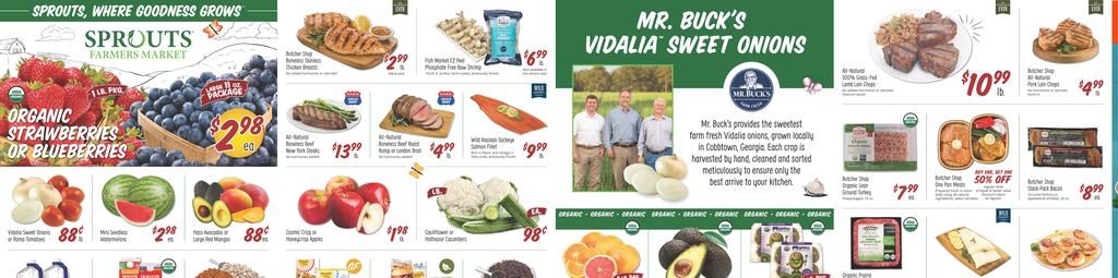 Sprouts Farmers Market Weekly Ad in Ashburn