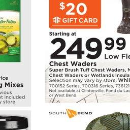 fleet farm weekly ad aug 24 to sep 03 - Fleet Farm Gift Card