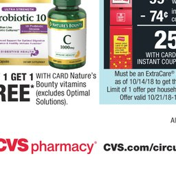 cvs pharmacy weekly ad oct 21 to oct 27